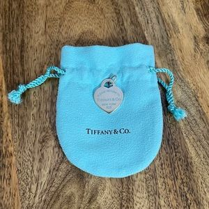 Tiffany Heart Tag Charm